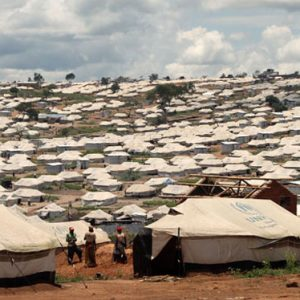 Mahama camp in Rwanda, where 50,000 Burudians are currently seeking refuge and humanitarian support. (Pic: Caritas Rwanda)