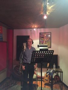 Andrew Basquille, Factor One, recording at The 515 Studio, Nashville
