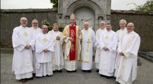 Bishop Denis Nulty and Deacons