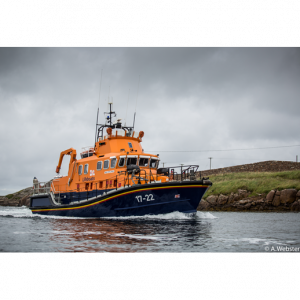 Arranmore's all-weather lifeboat has a crew that includes curate Fr Liam Boyle