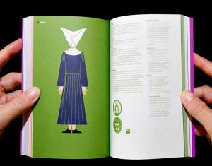 The Daughters of Charity of St Vincent de Paul are nicknamed 'God's geese' because of their distinctive head-dress derived from caps once worn by French peasant women. (Pic GraphicDesign&)